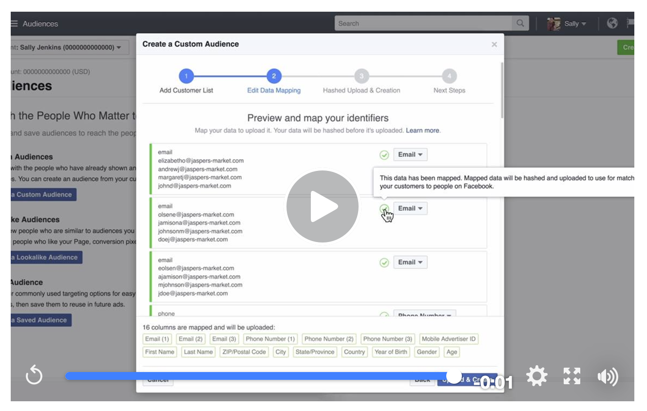 How to Create a Custom Audience Facebook Ad