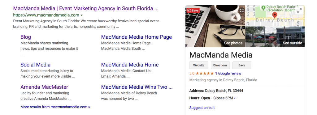 Local Digital Marketing = Google My Business | Amanda MacMaster | MacManda Media