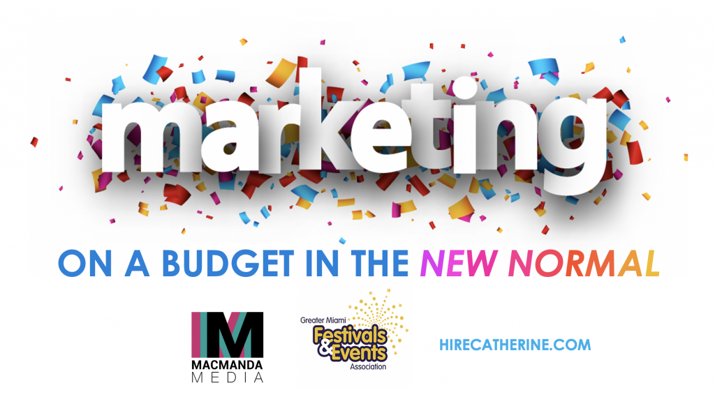 Resources: Marketing On A Budget in the New Normal | MacManda Media
