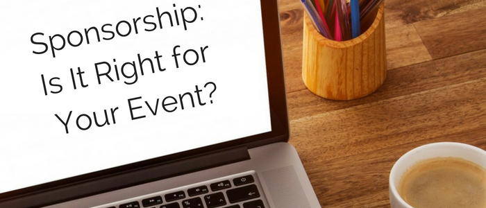 Event Sponsorship: Is It Right for Your Nonprofit Event?